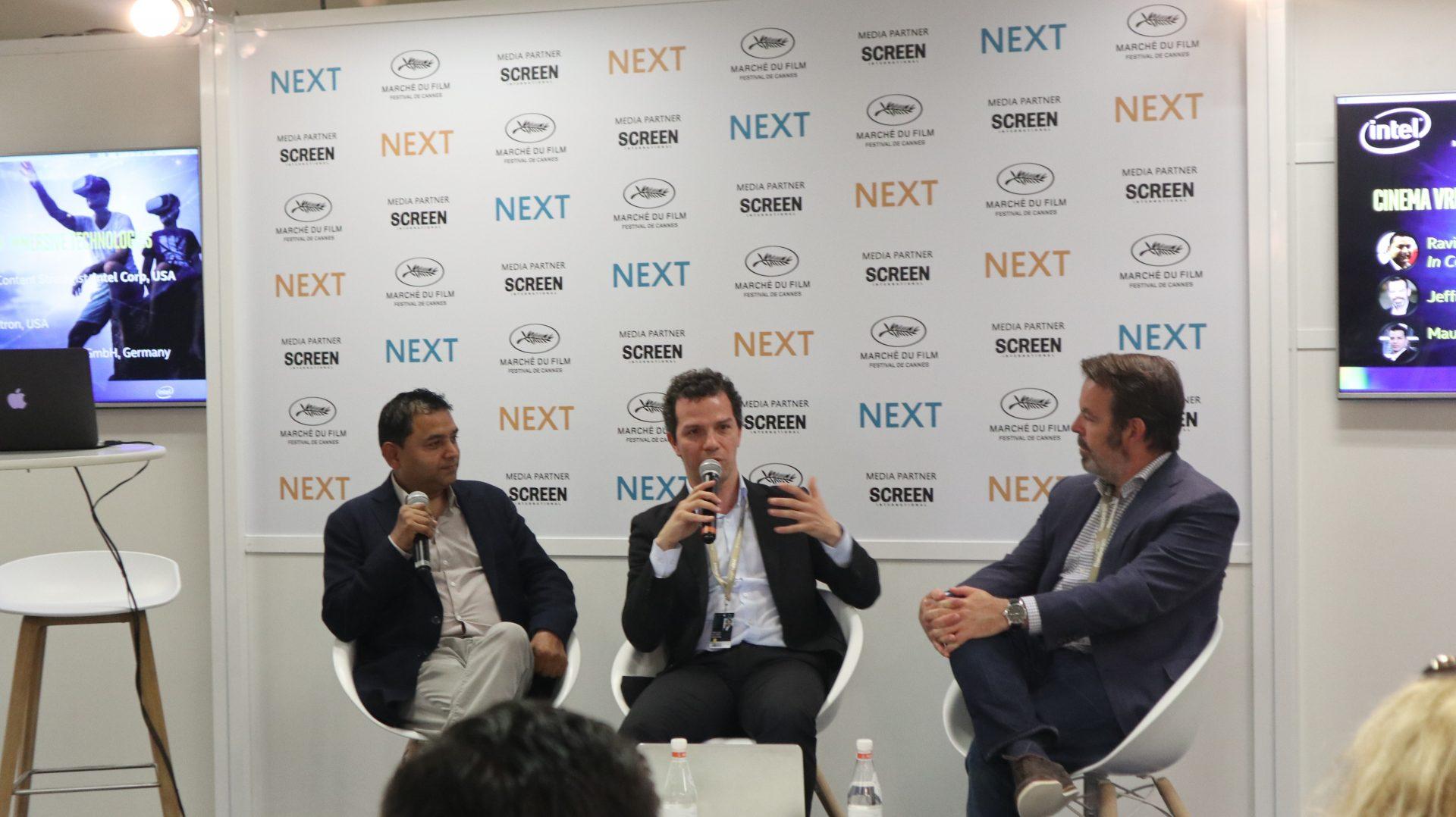 Panel at NEXT 2018